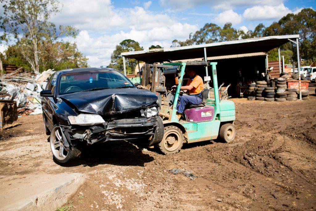 car body removal