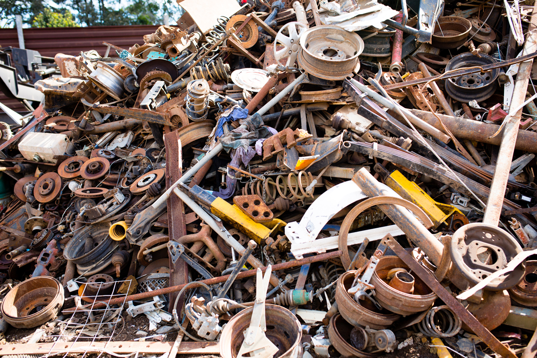 Ferrous Metals | Advanced Metal Recyclers